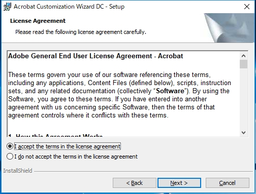 Adobe IDによるサインイン無しでAcrobat DCをインストールする方法