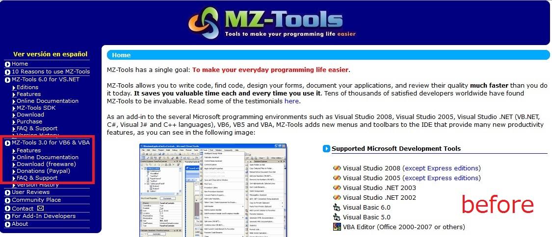 新しくなったMZ-Tools | 初心者備忘録